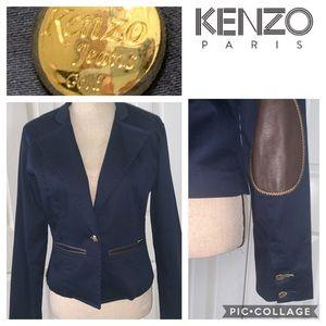 Kenzo blazer gold collection